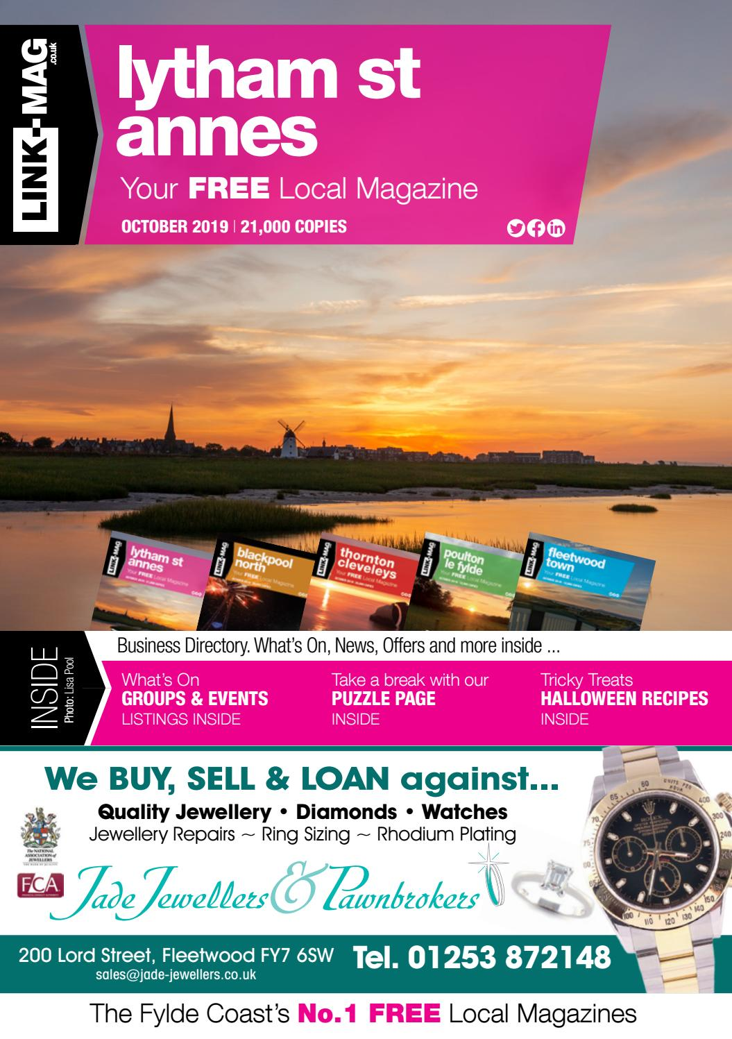 Link Mag Lytham St Annes October 2019 By Link Mag Issuu