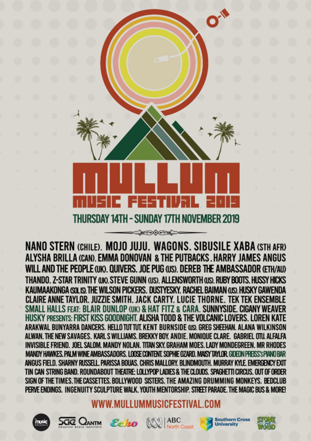 Mullum Music Festival 2019 By Red Square Music Issuu