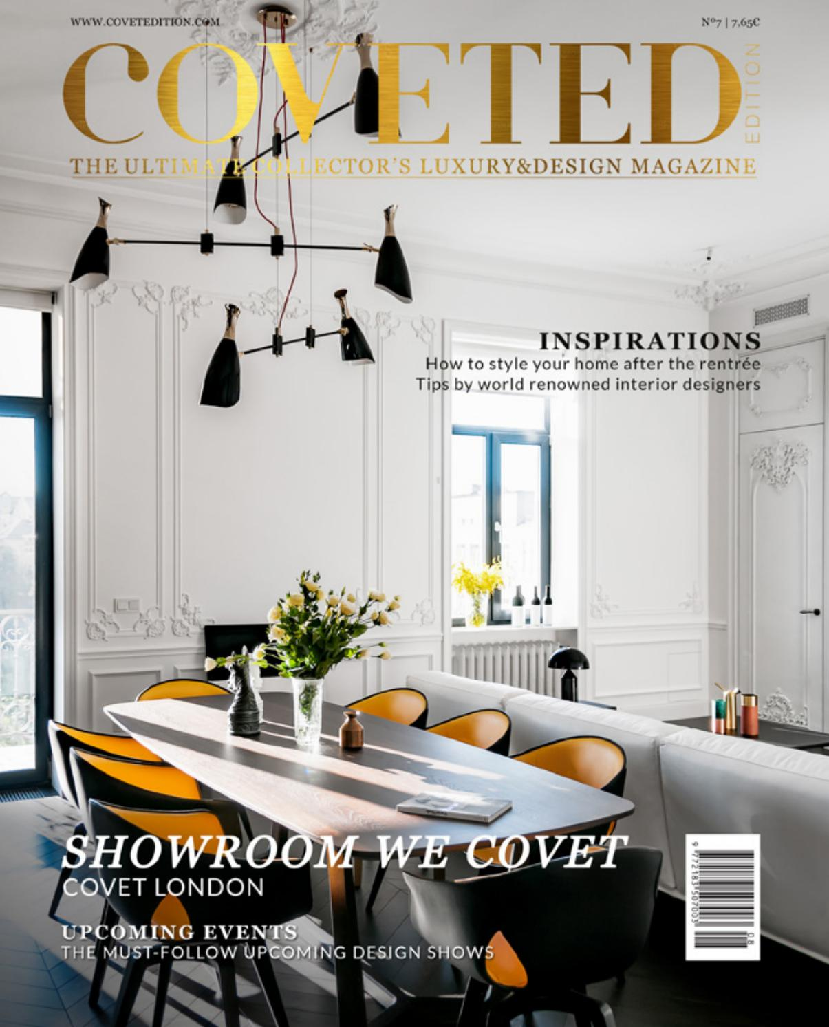 Coveted Magazine 8th Edition By Trend Design Book Issuu