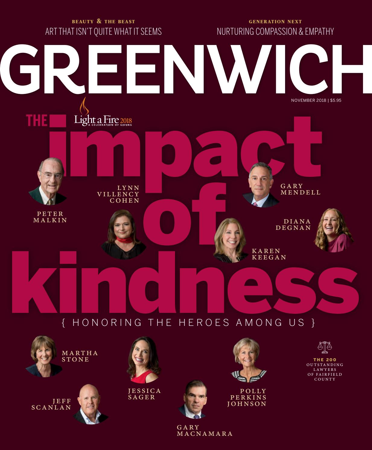 Greenwich Magazine November 2018 By Moffly Media Issuu