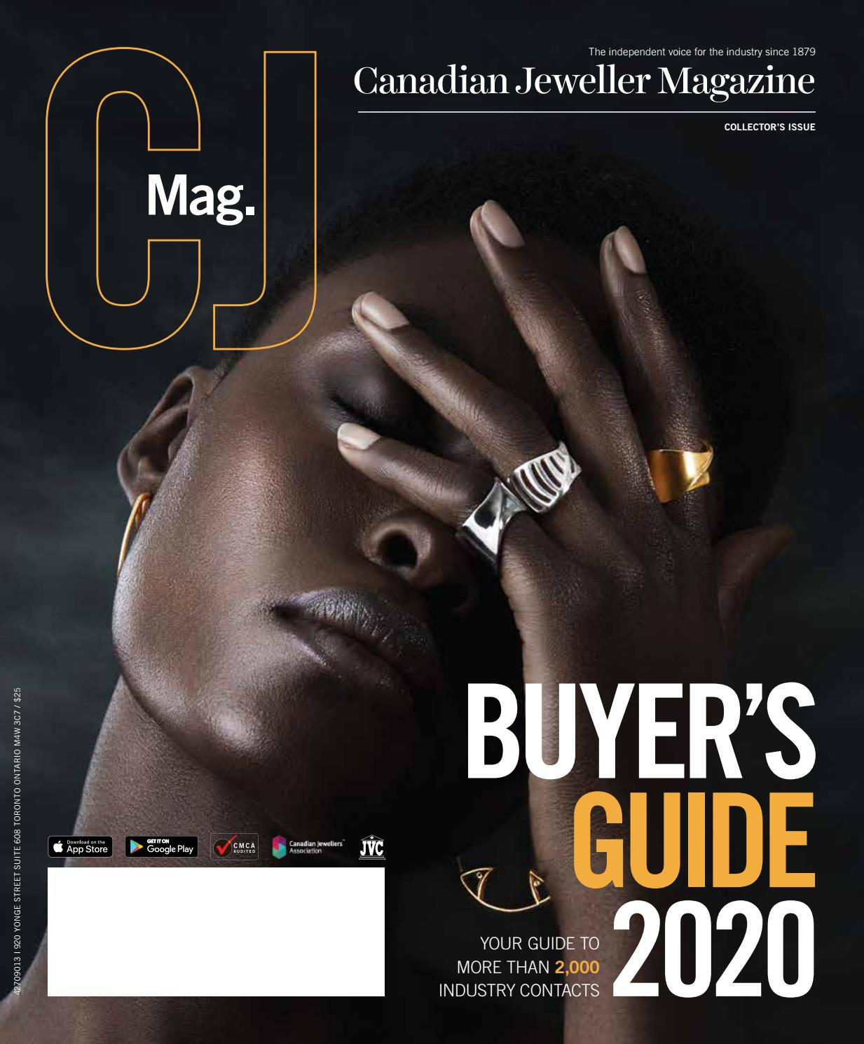 Cj Buyers Guide 2020 By Canadian Jeweller Magazine Issuu