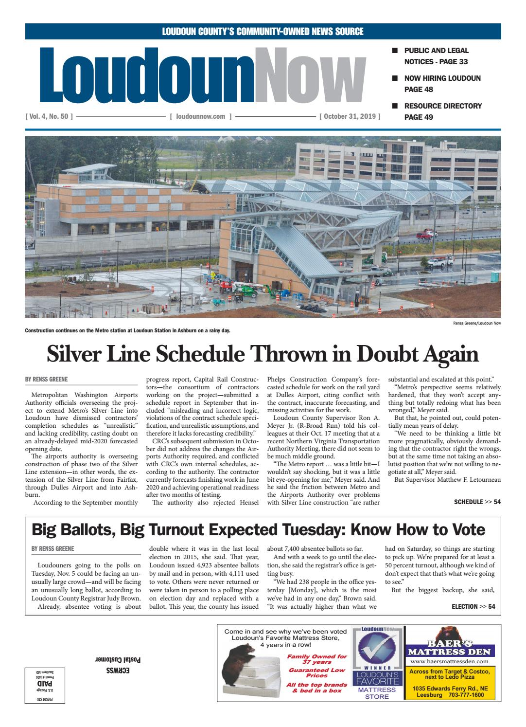 Loudoun Now For Oct 31 2019 By Loudoun Now Issuu