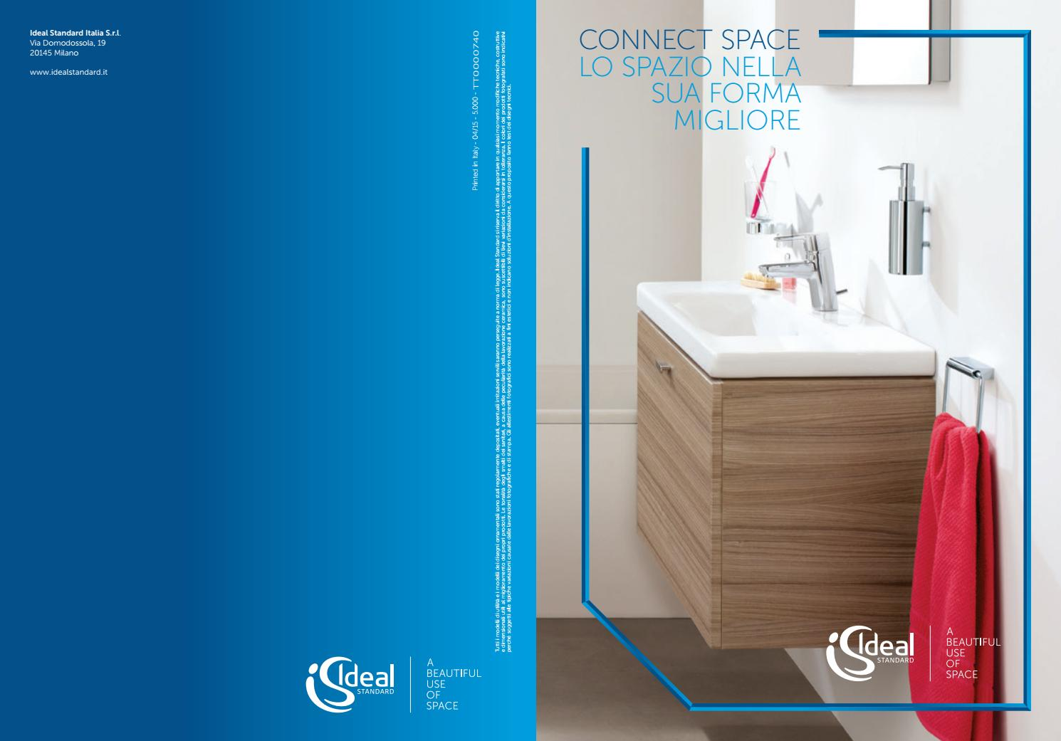 Connect Space Composizioni Bagno Ideal Standard Catalogo Jo Bagno It By Cataloghi On Line Issuu