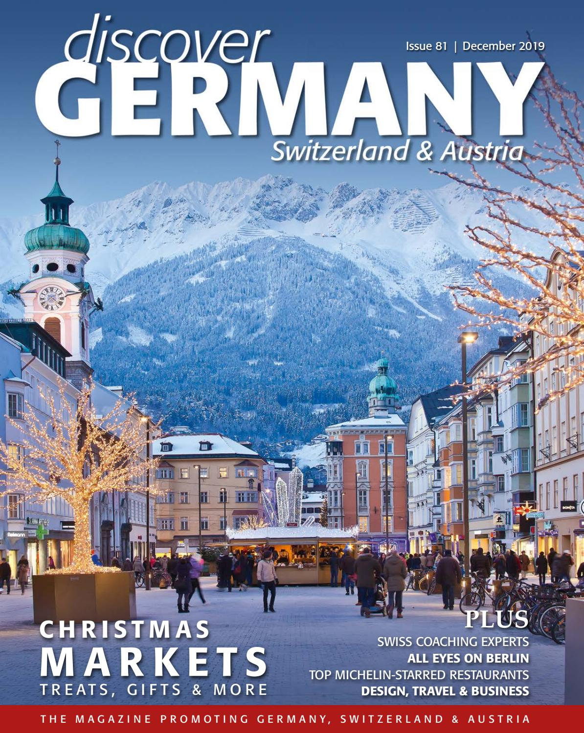 Discover Germany Issue 81 December 2019 By Scan Client Publishing Issuu