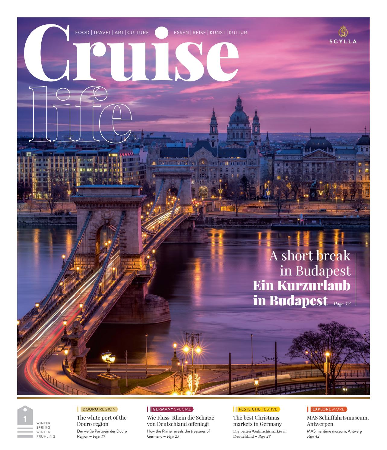 Cruiselife Issue 1 Winter Spring Winter Frühlin By Land Marine Publications Ltd Issuu