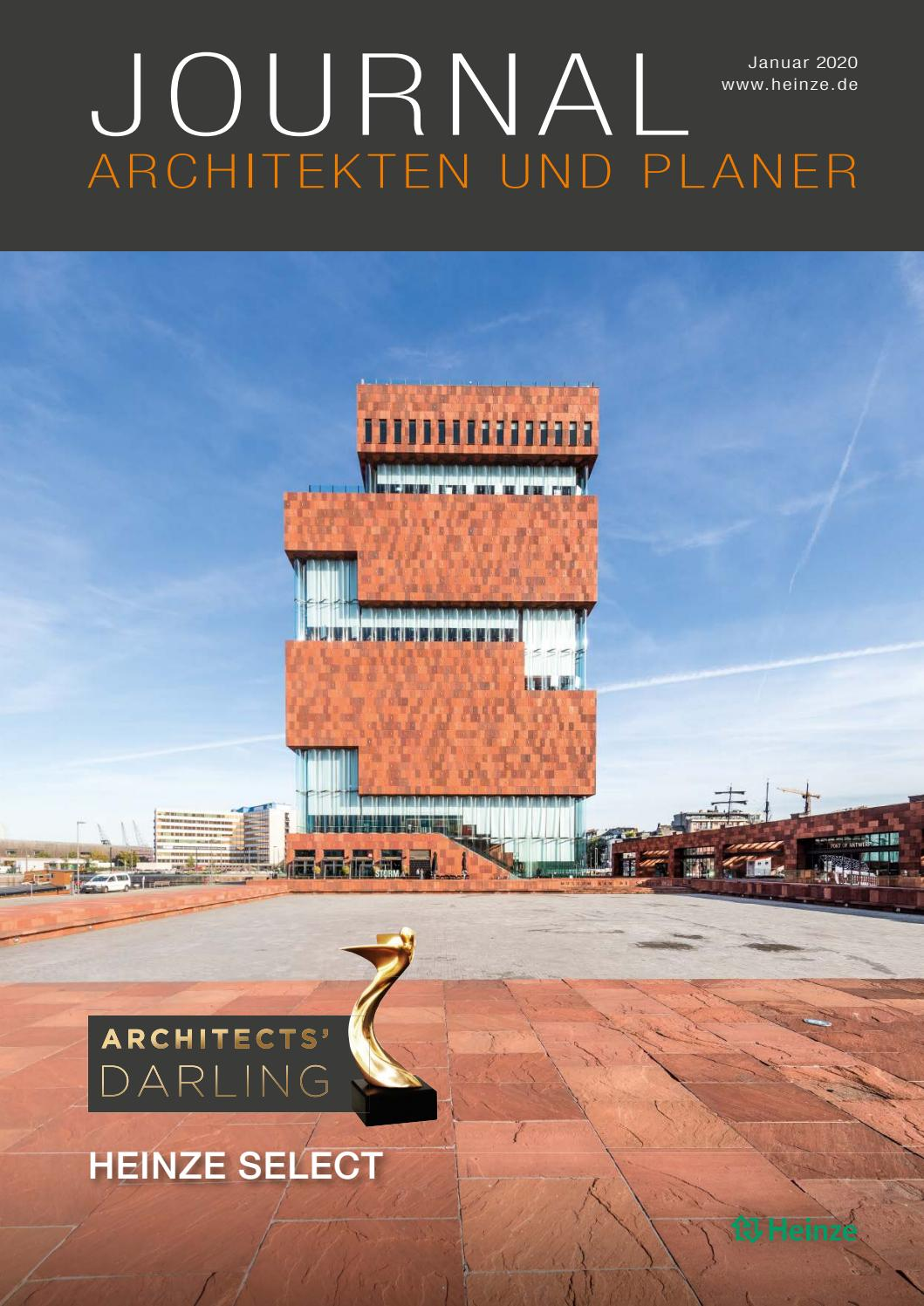 Journal Architekten Und Planer Januar 2020 By Heinze Gmbh Issuu