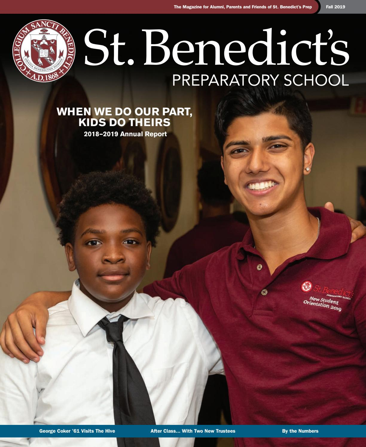 St Benedict S Annual Report 2018 2019 By St Benedict S Preparatory School Issuu