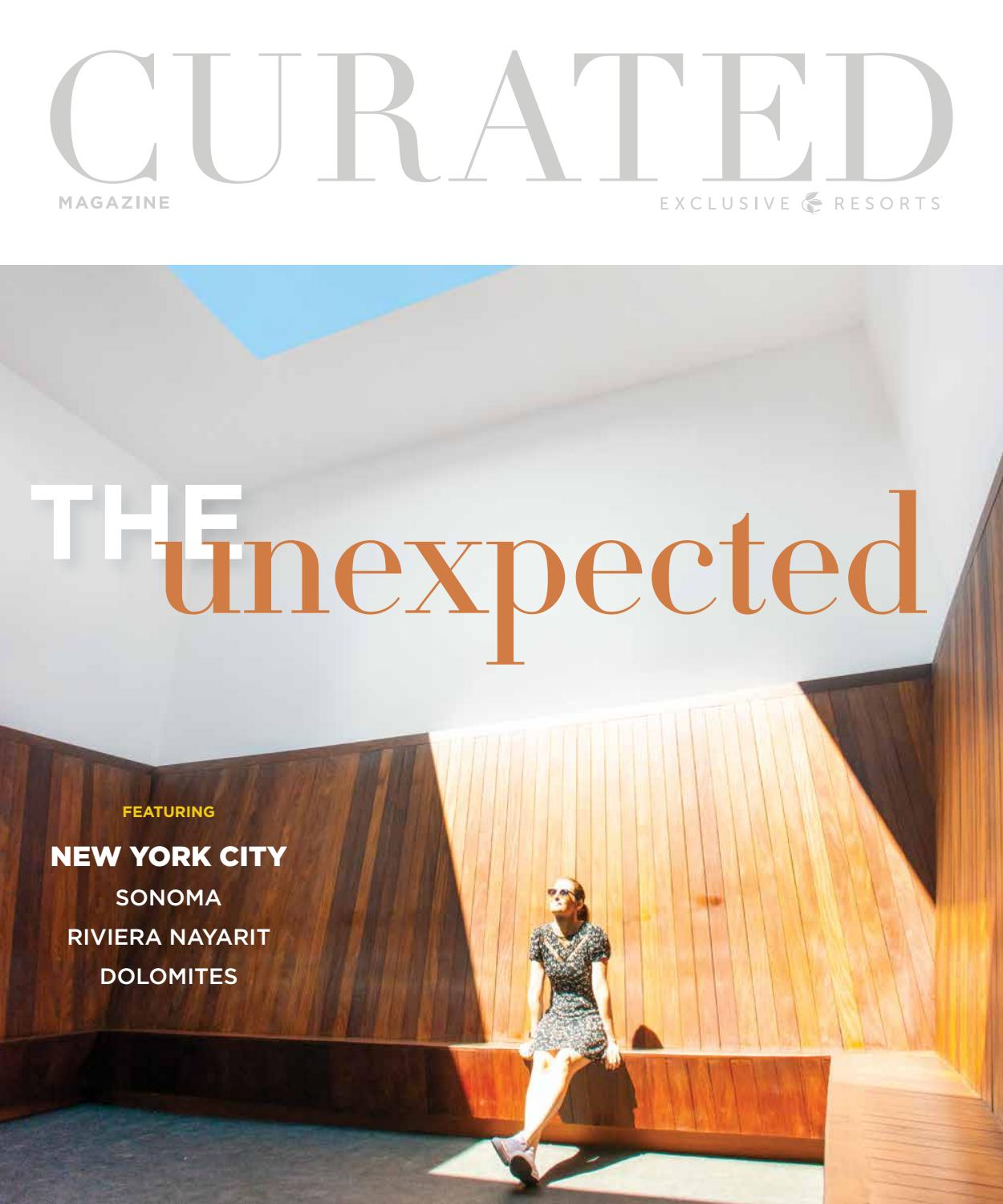 Curated Magazine By Exclusive Resorts Winter 2020 By Exclusive Resorts Issuu