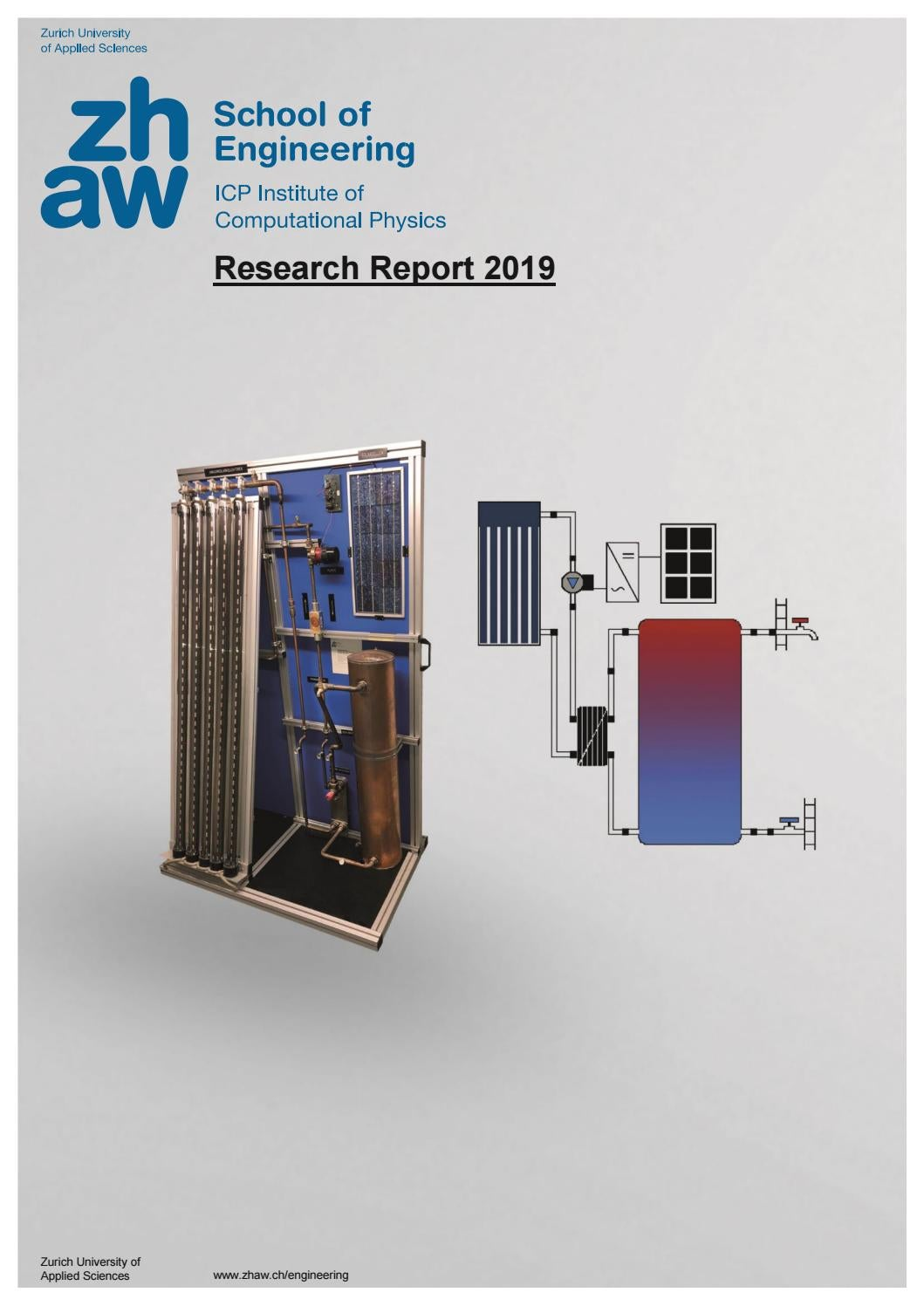 Icp Research Report 2019 English By Zhaw School Of Engineering Issuu