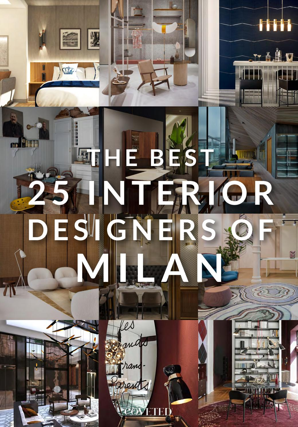 The Best 25 Interior Designers Of Milan By Trend Design Book Issuu
