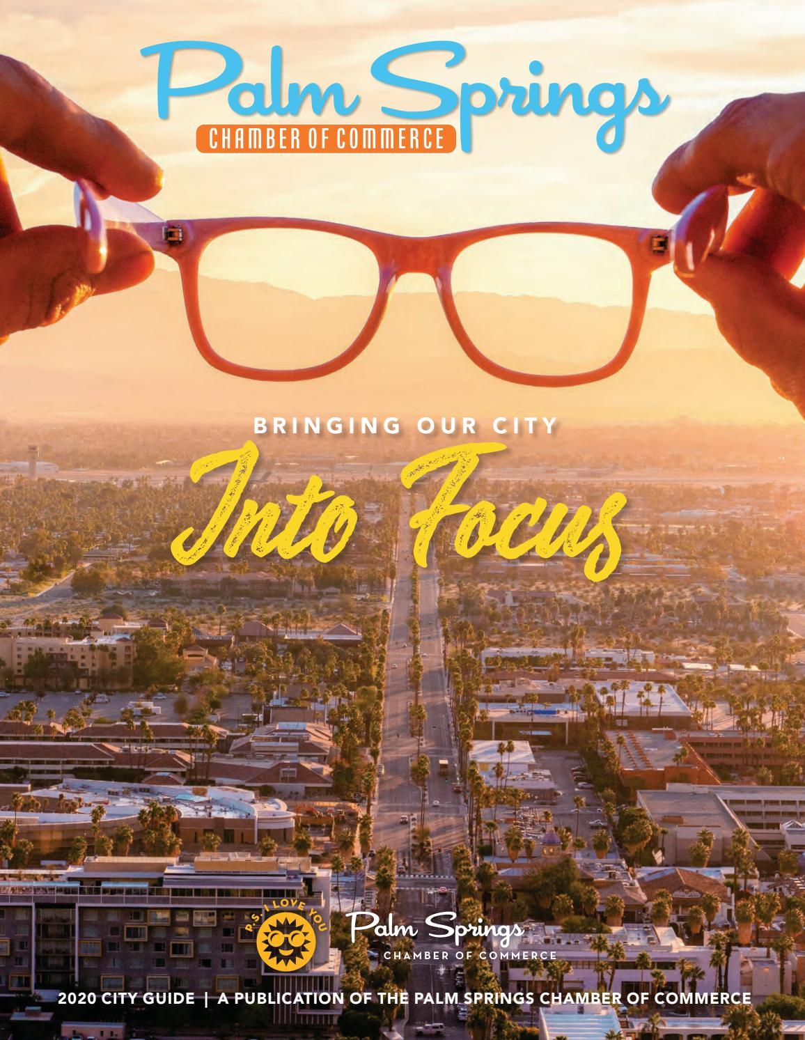 Palm Springs Chamber Of Commerce City Guide 2020 By Ps Chamber City Guide Issuu