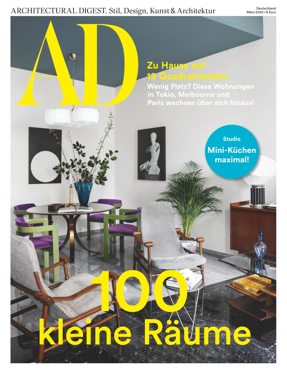 Ad 03 2020 100 Kleine Räume By Ad Architectural Digest Issuu