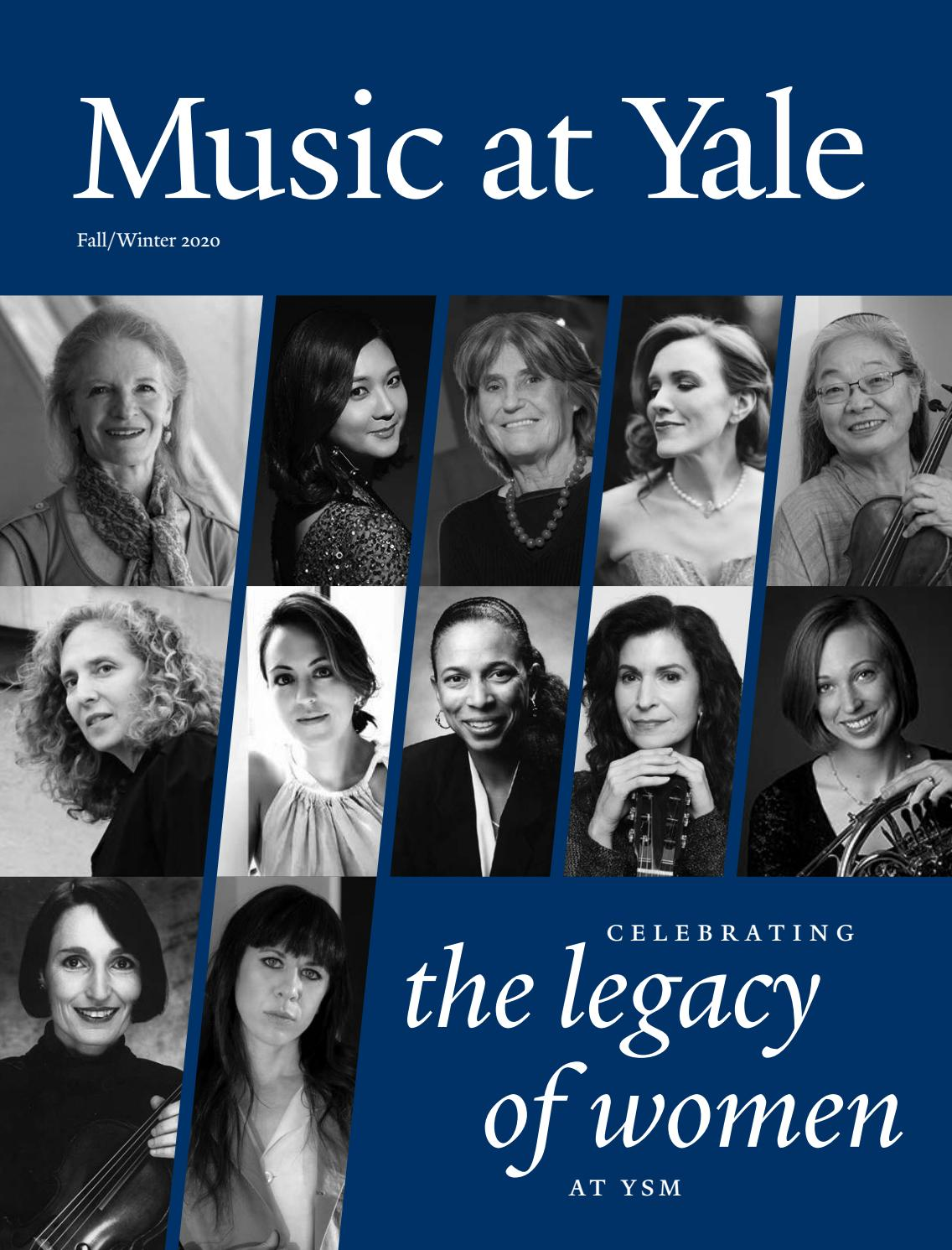 Music At Yale Fall 2019 Winter 2020 By Yale School Of Music Issuu