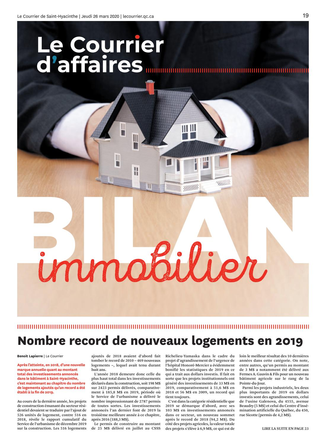 Le Courrier D Affaires By Dbc Communications Issuu