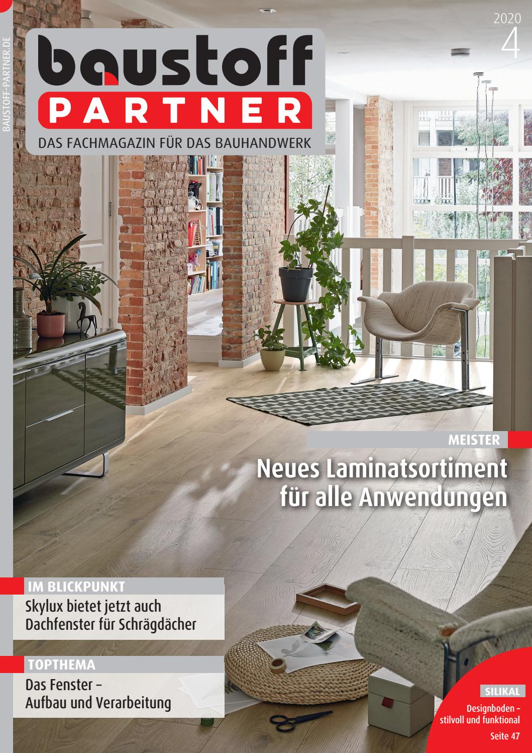 Baustoffpartner April 2020 By Sbm Verlag Gmbh Issuu