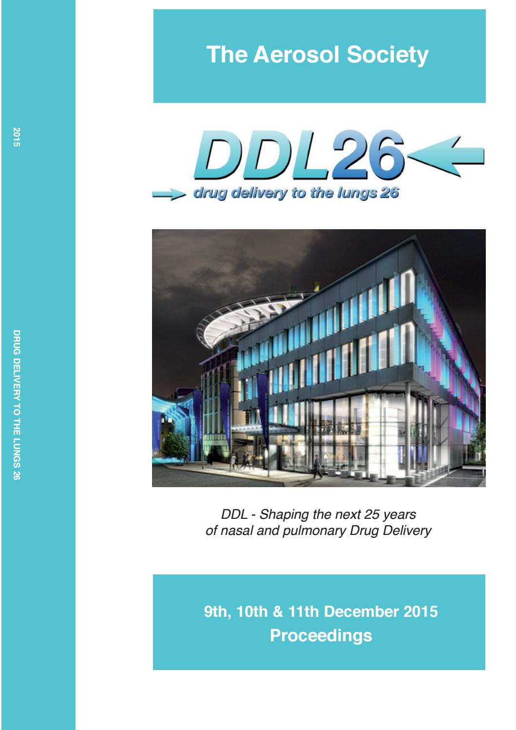 Ddl2015 Digital Proceedings Ddl26 By Info Ddl Conference Issuu