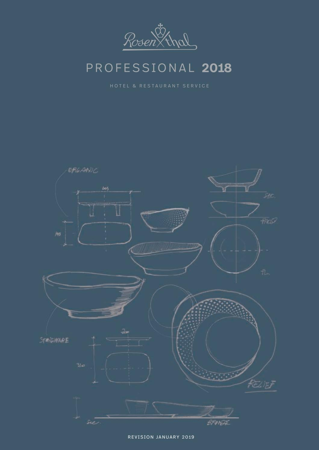 Catalogo Rosenthal Hotel 2019 By Servitel Issuu