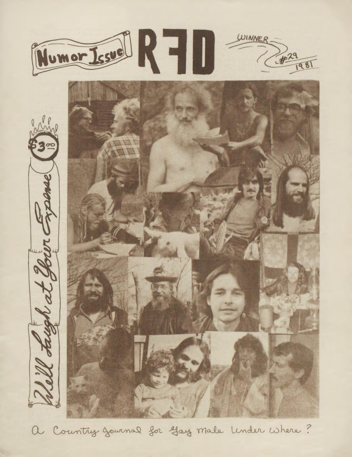 Rfd Issue 29 Winter 1981 By Rfd Magazine Gay Issuu