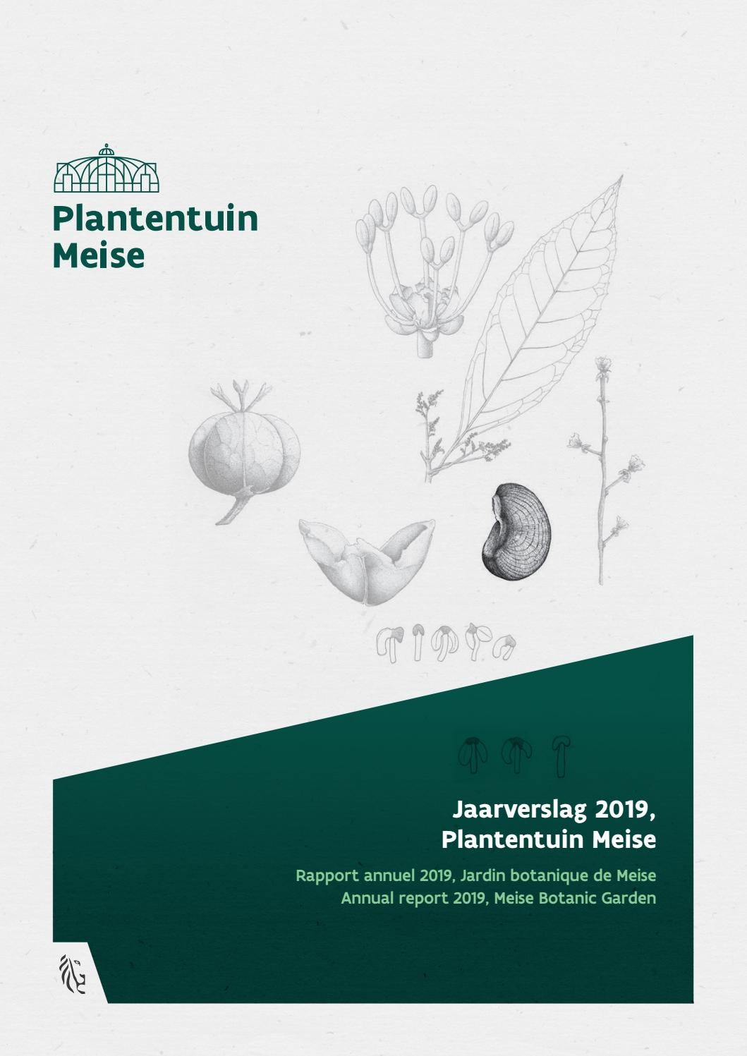 Annual Report 2019 By Meise Botanic Garden Issuu