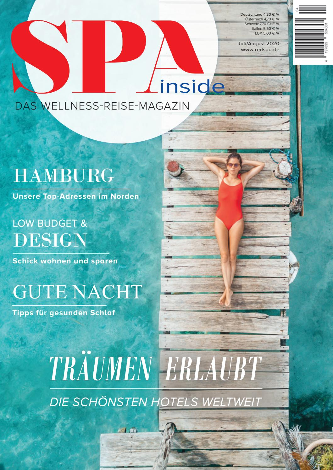 Spa Inside Das Wellness Reise Magazin Ausgabe 04 2020 By Redspa Media Issuu