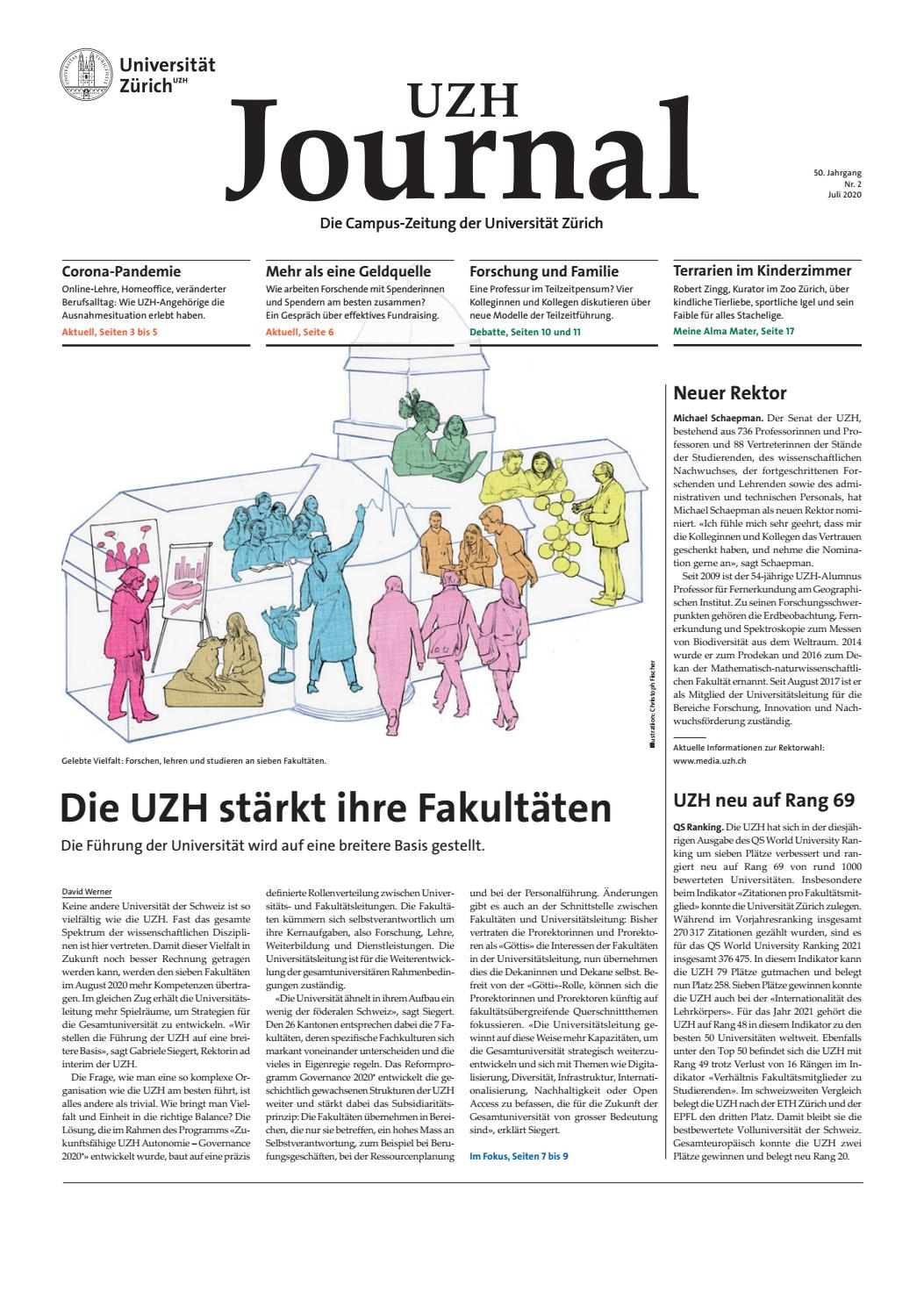 Uzh Journal 2 20 By University Of Zurich Issuu