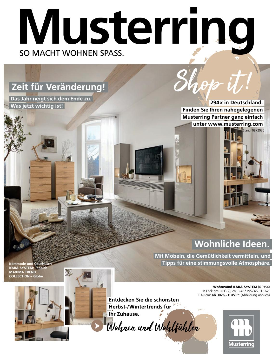 Musterring Beileger Herbst 2020 By Pilipp Issuu