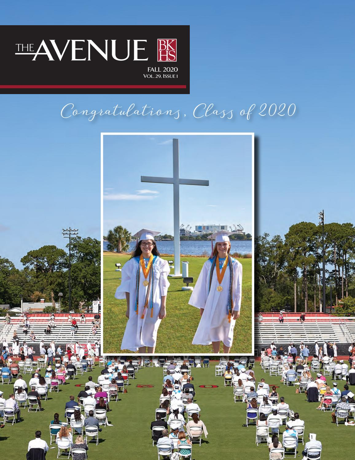 Avenue 2020 By Bishop Kenny High School Issuu
