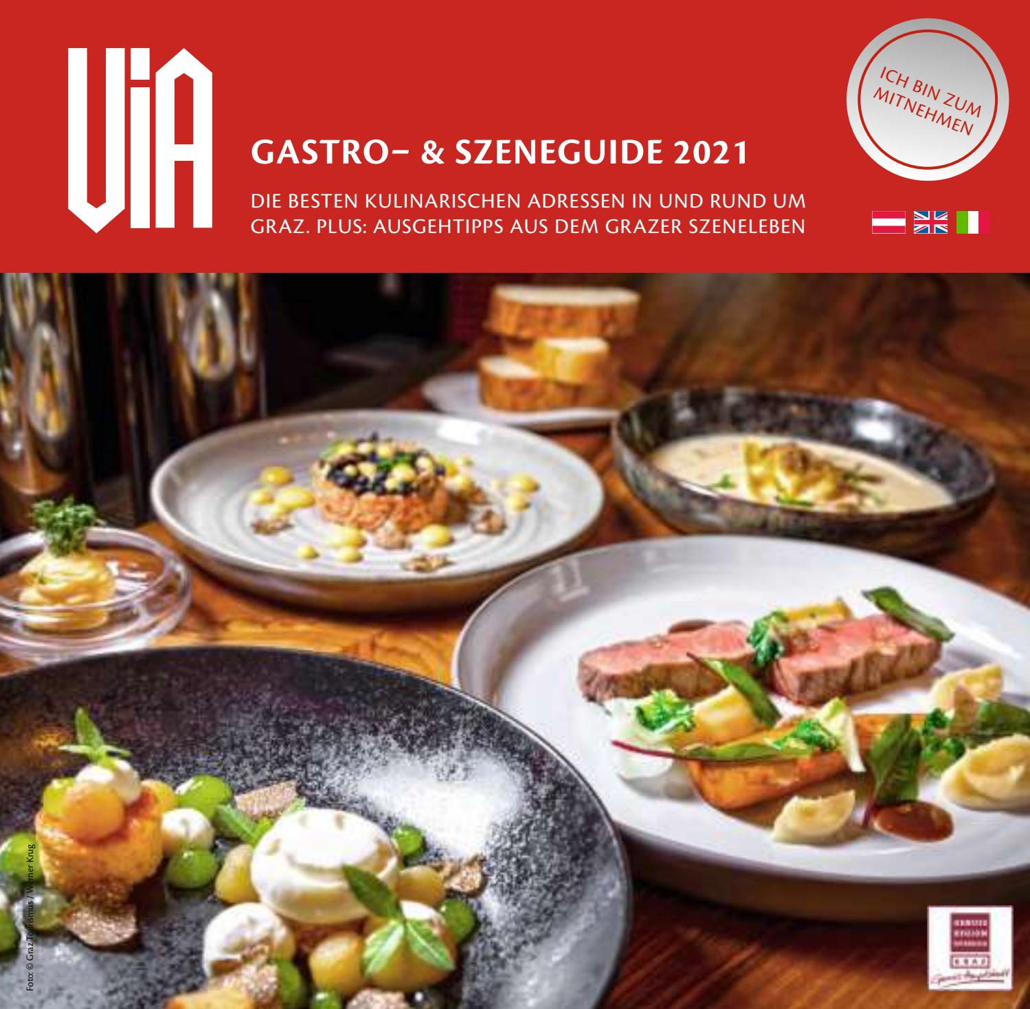 Via Gastroguide Graz 2021 By Corporate Media Service Issuu