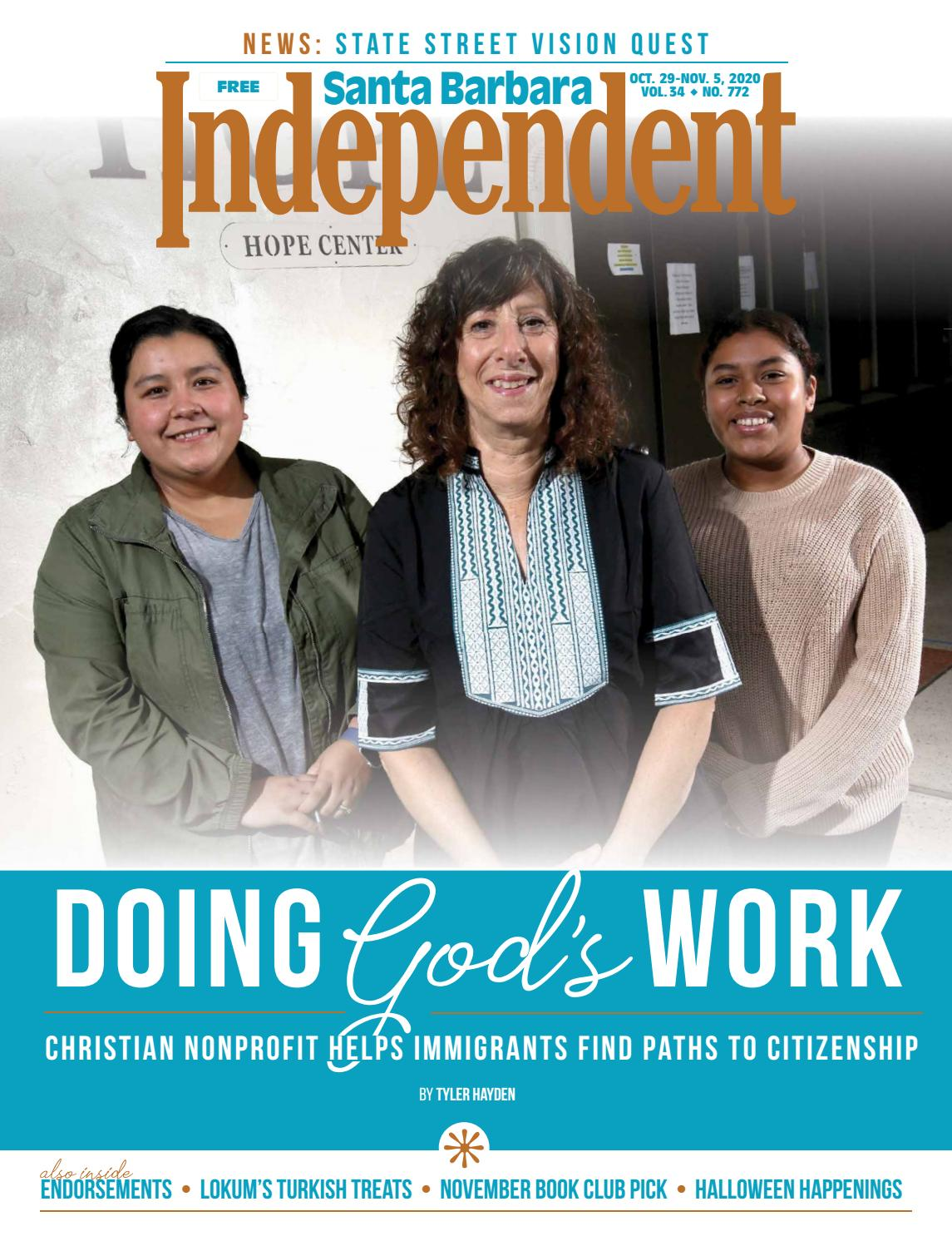 Santa Barbara Independent 10 29 20 By Sb Independent Issuu
