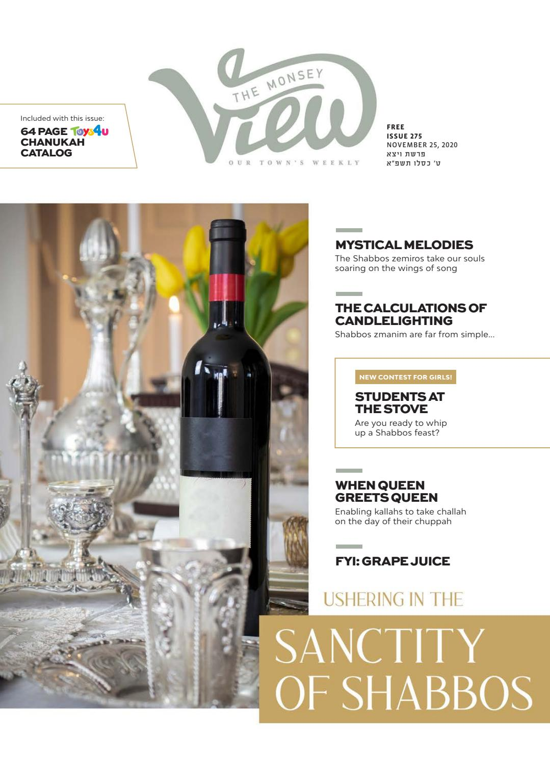 Issue 275 By The Monsey View Issuu