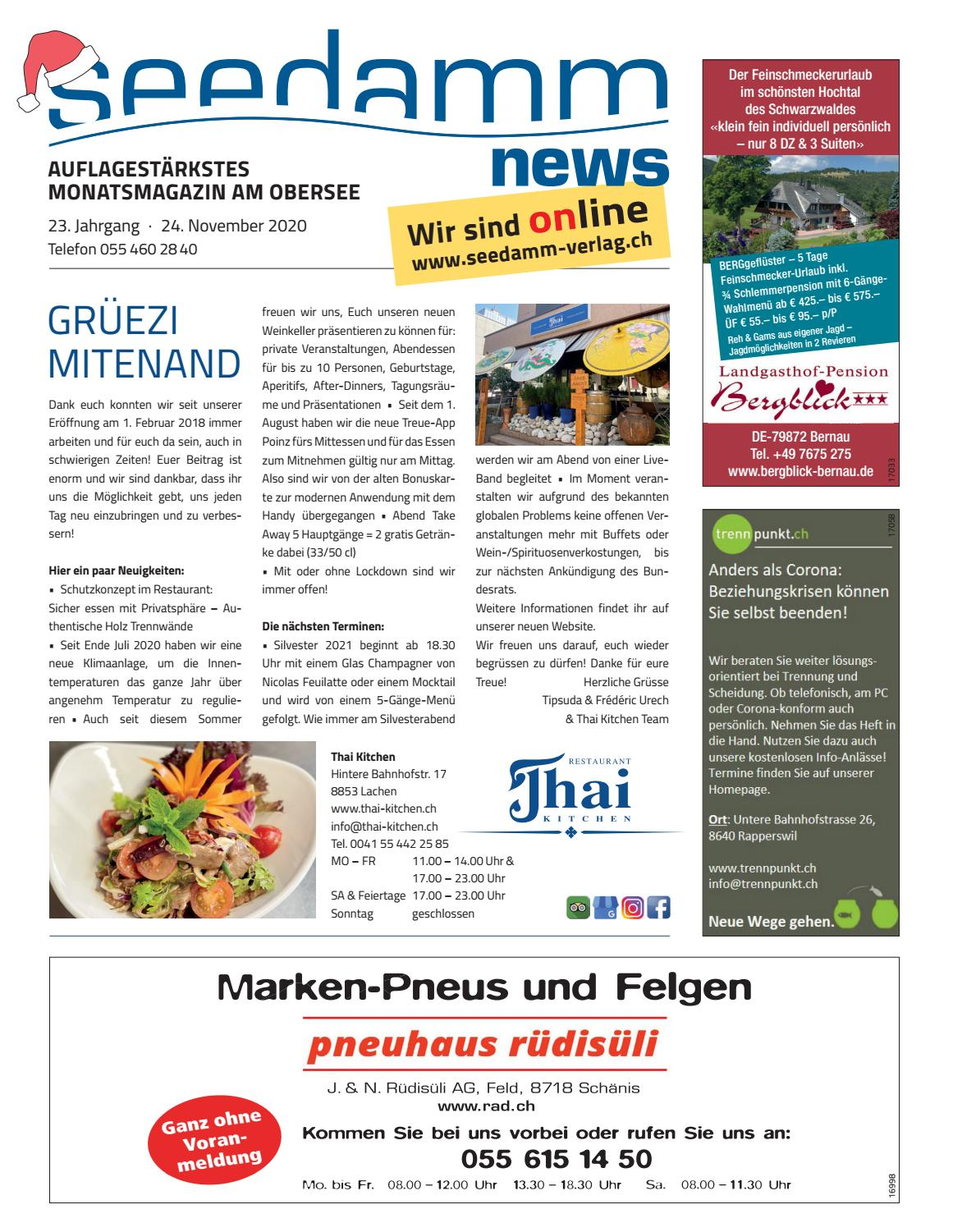 Bettdecken Huttwil Seedamm News November 2020 By Seedamm-verlag - Issuu