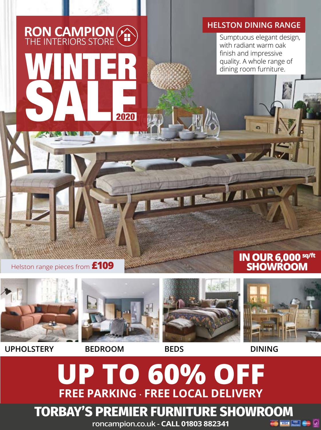 Ron Campion Winter Sale 2020 Brochure By Ron Campion Furnishers Issuu