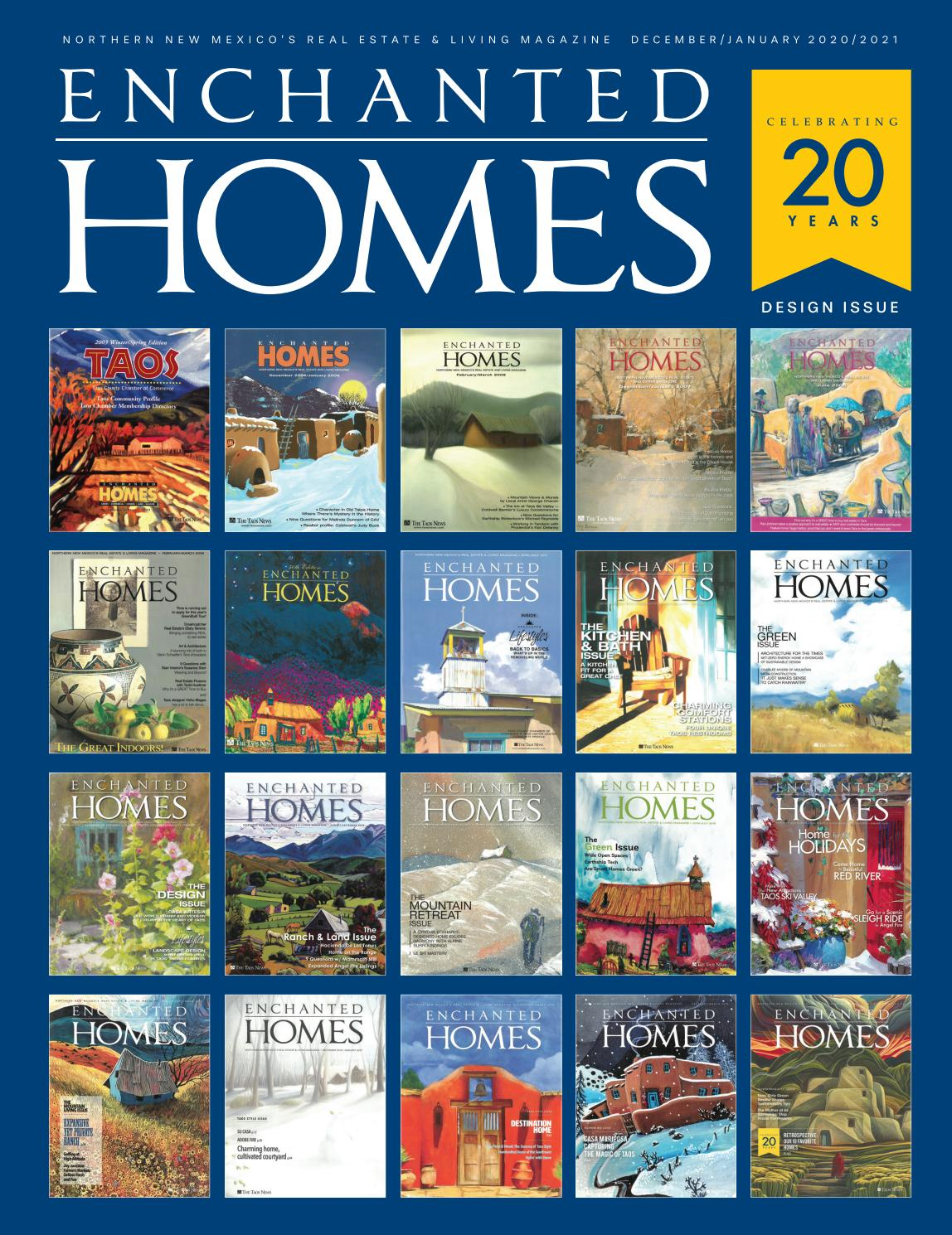 Enchanted Homes 136 By The Taos News Issuu