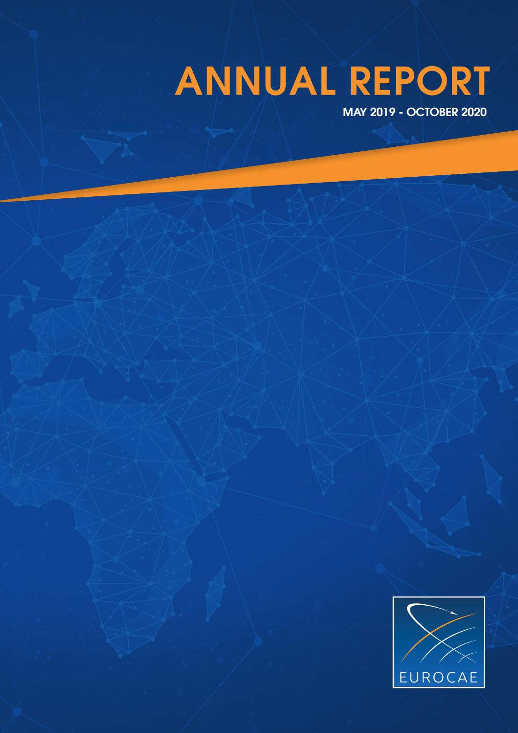 Eurocae Annual Report May 2019 October 2020 By Eurocae Issuu