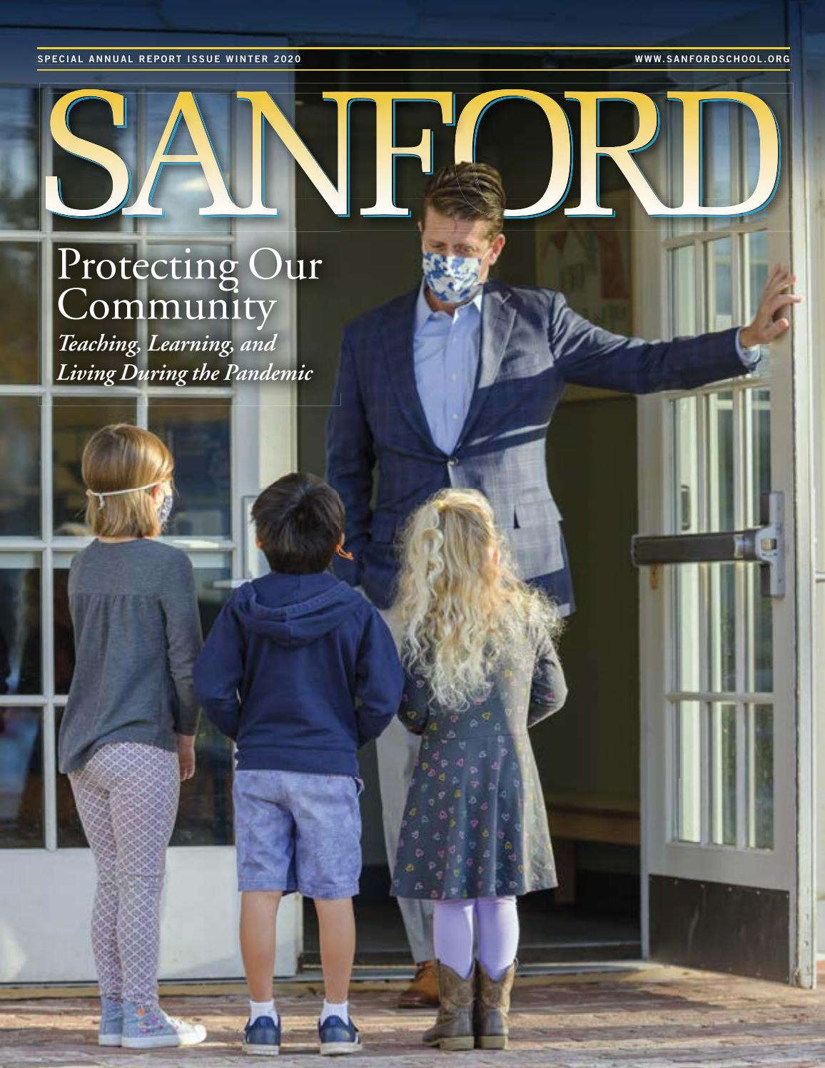 Sanford Magazine Winter 2020 By Sanford School Issuu