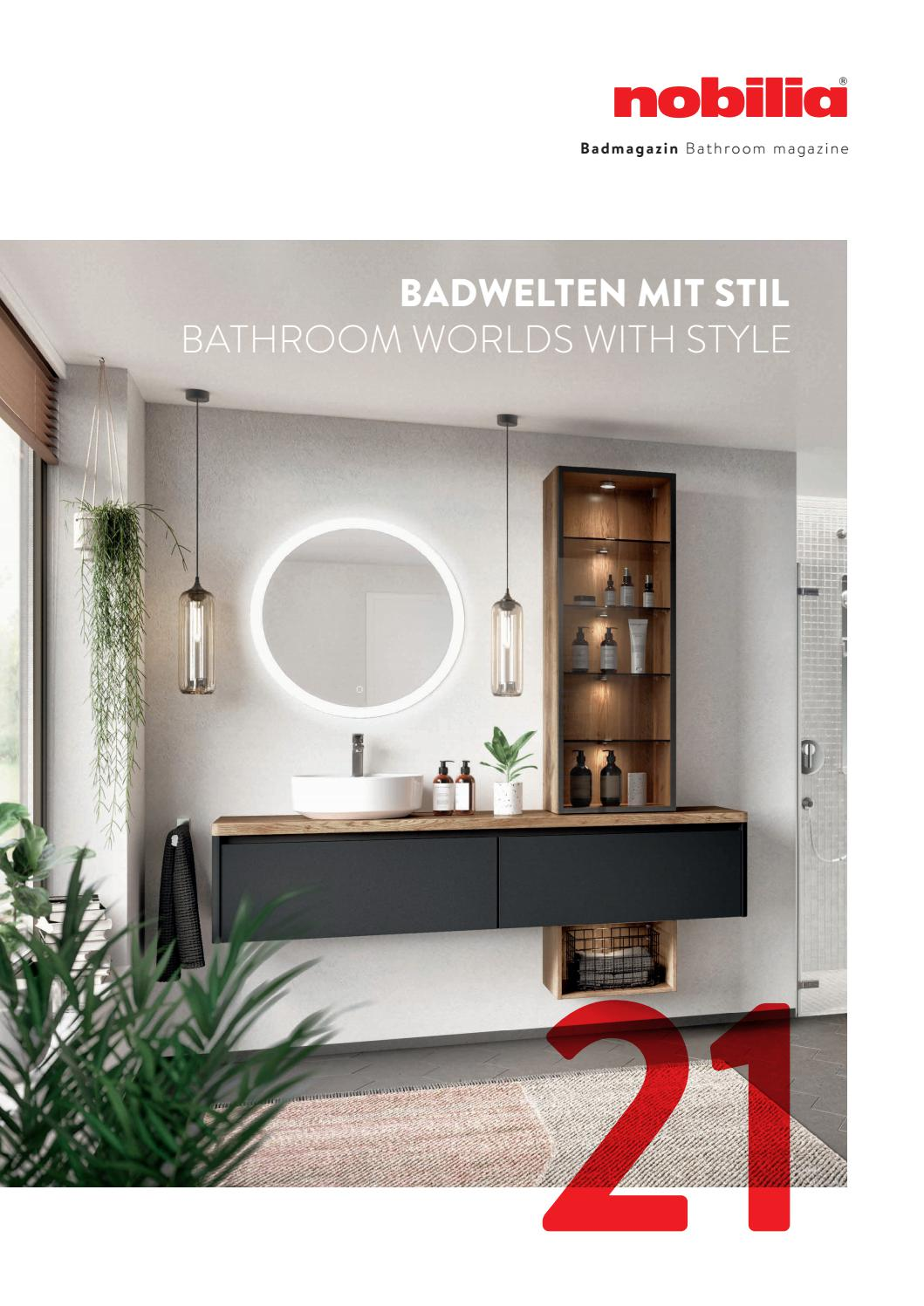 Nobilia Bathroom Worlds With Style 2021 By Oxfordhouse Mt Issuu