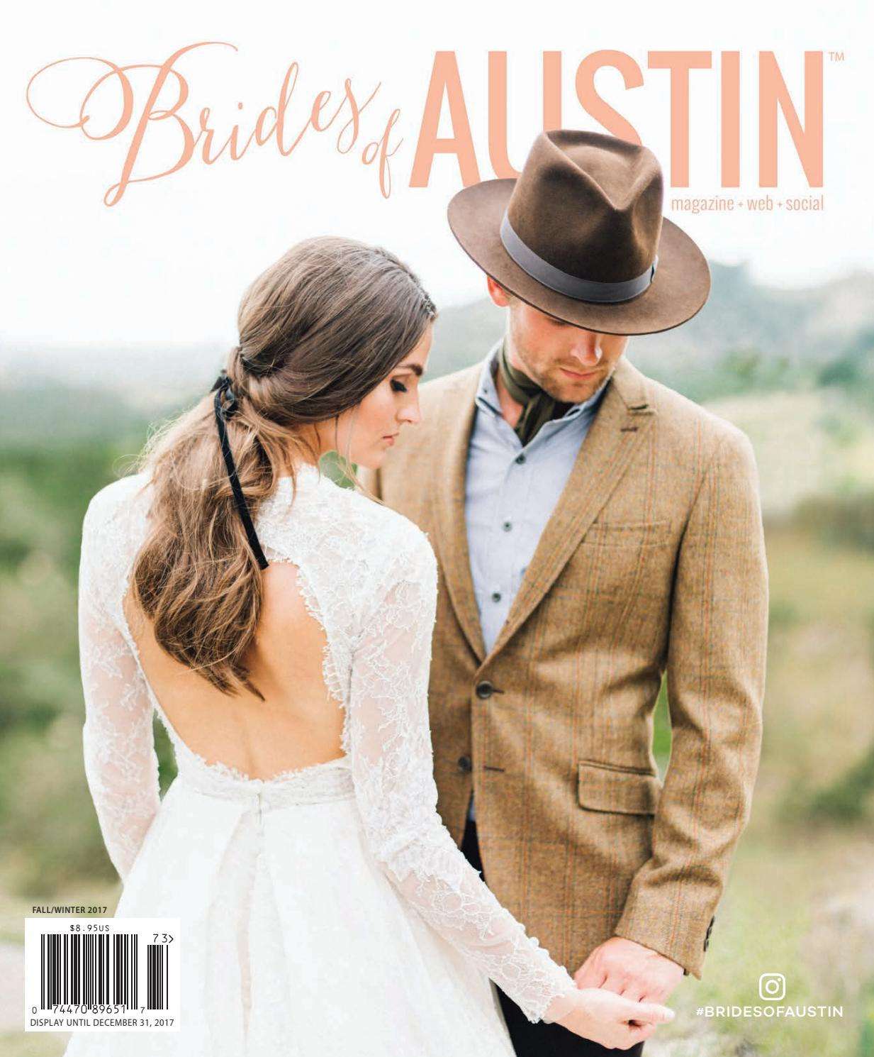 Brides Of Austin Fall Winter 2017 Issue By Wed Society Issuu