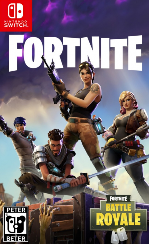 Carte Ps Store Fortnite Battle Royale Sur Nintendo Switch - Jeuxvideo.com