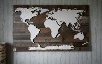 >> Weltkarten mit Dekor