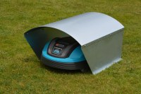 Mhroboter Garage Box mit Runddach - metallmoebel24
