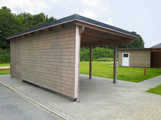 Garage Carport Kombination Preise Carport Am Haus Mit Schuppen. Good With Carport Am Haus
