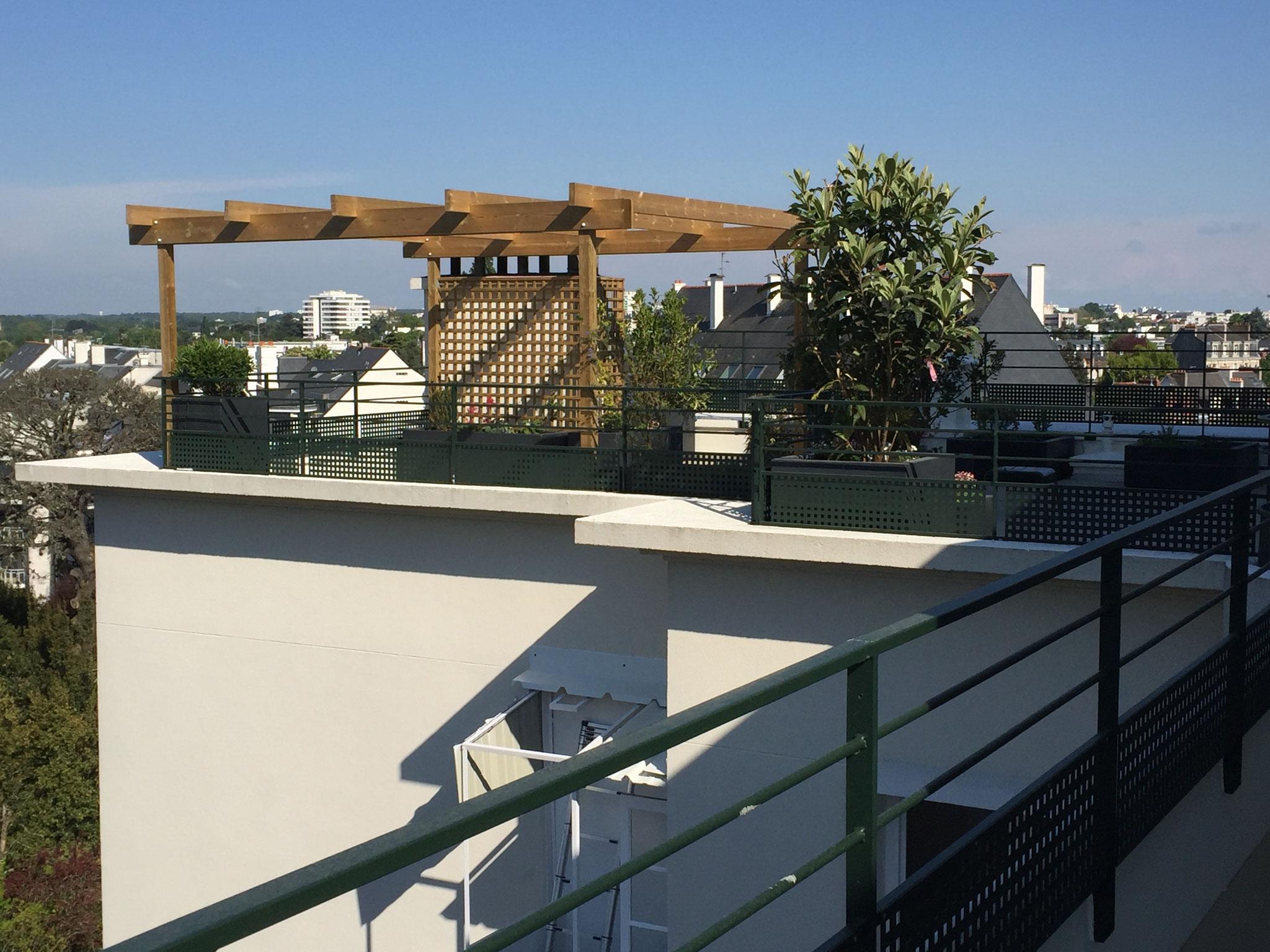 Terrasse Et Jardin Nantes | Sfc Habitat Pose Et Rénovation De ...