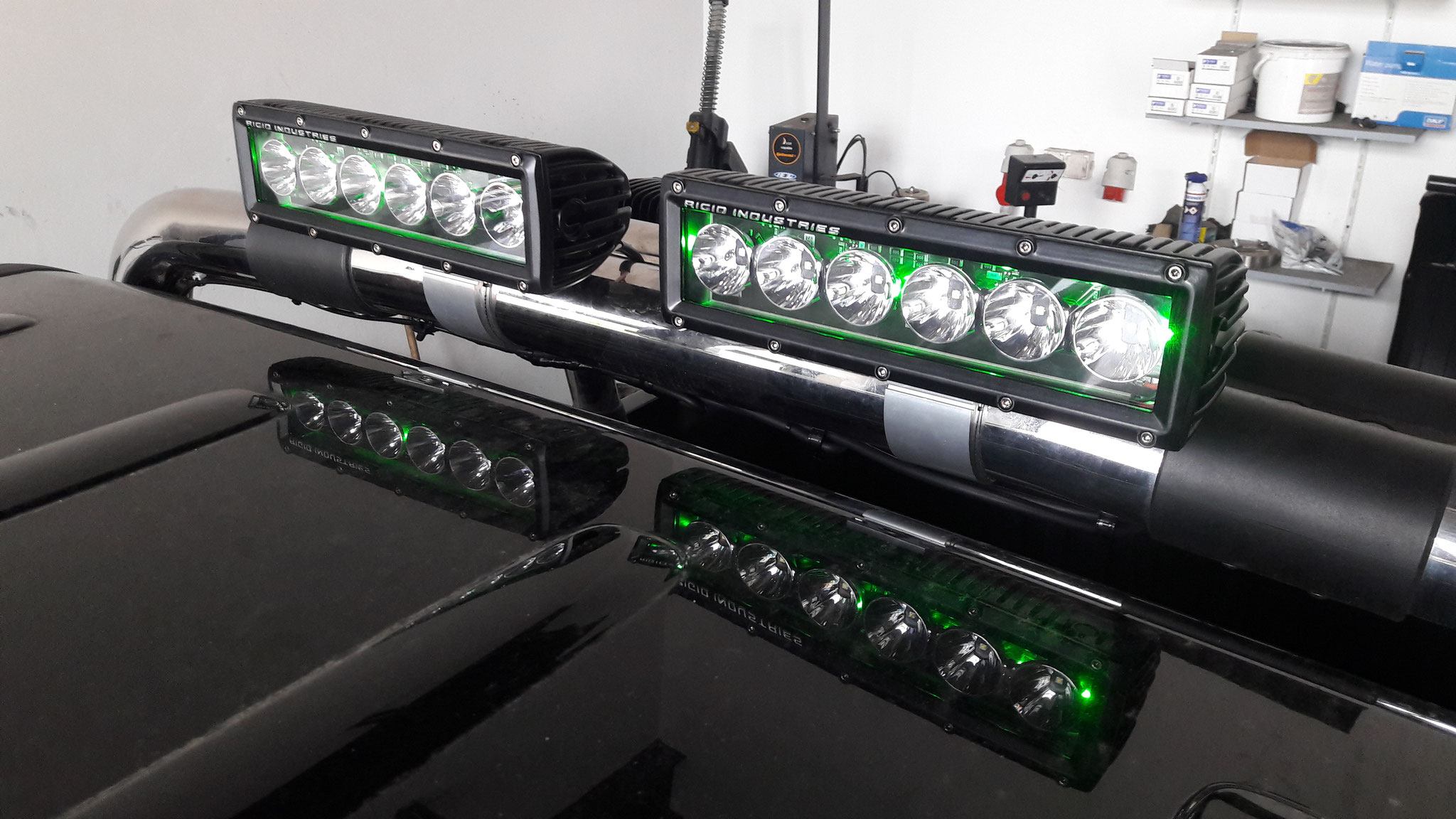 Led Lichtleiste Jeep Led Rigid Lights Mephisto Parts By Baßdorf Gmbh