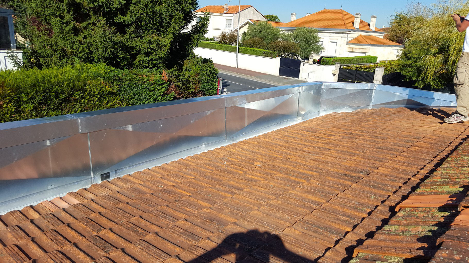 Revetement De Sol Terrasse Refection Cheneau Zinc - Toitures 33 - Bordeaux Gironde