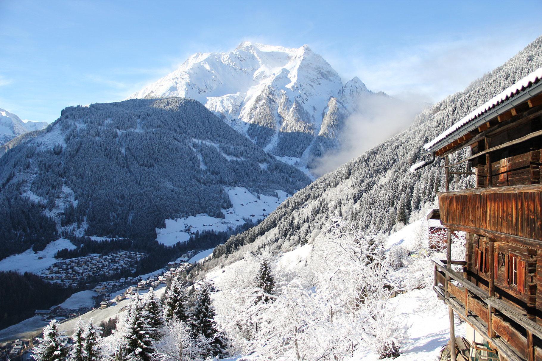 Mayrhofen Skigebiet