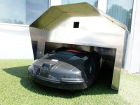 Rolltor-Garage - Robomaeher Theuner