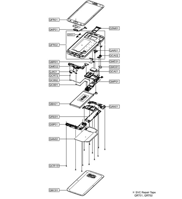coolpad 7295c diagram
