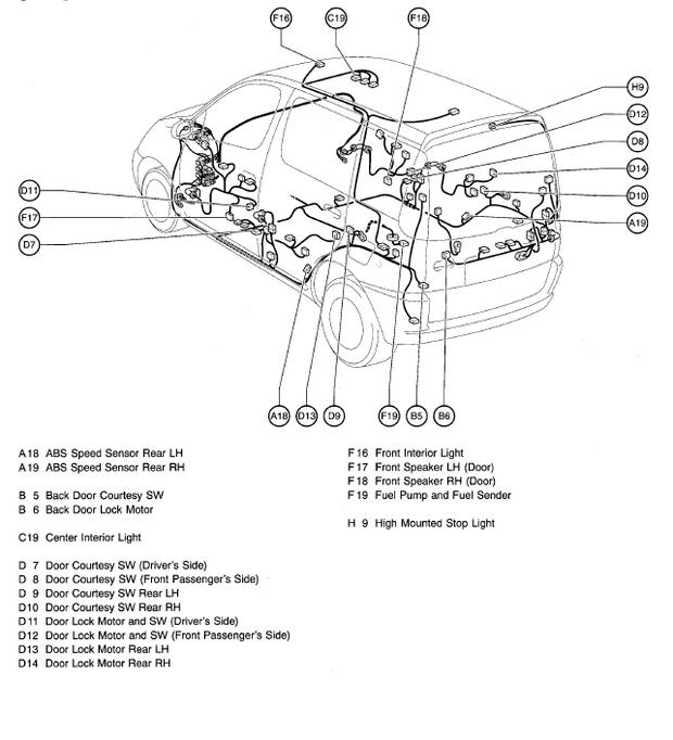 toyota yaris verso wiring diagram