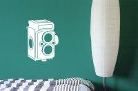 Vintage Camera | Vinyl | Decal | Sticker - Wall Art Company