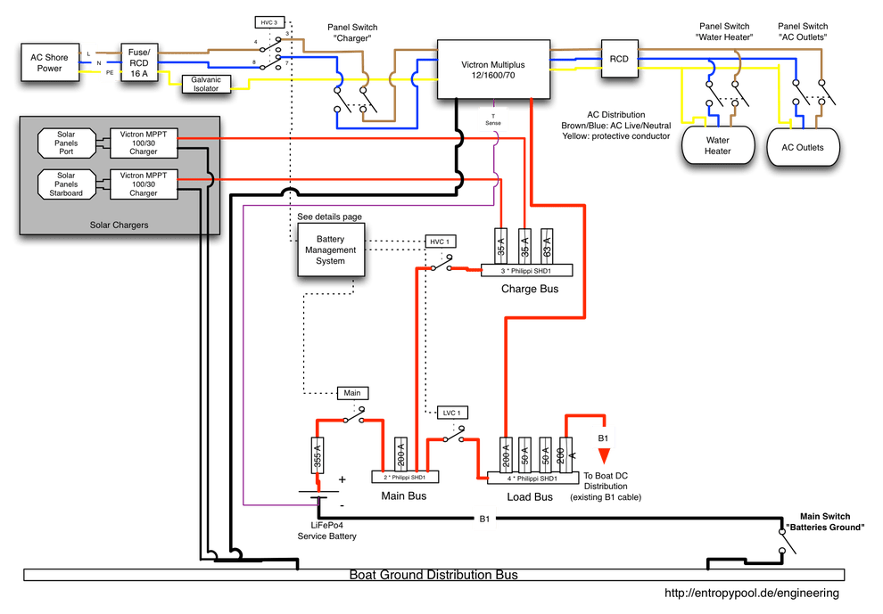 10000 Inverter Wiring Diagram Designing A Lifepo4 Battery System Part 3 System Design